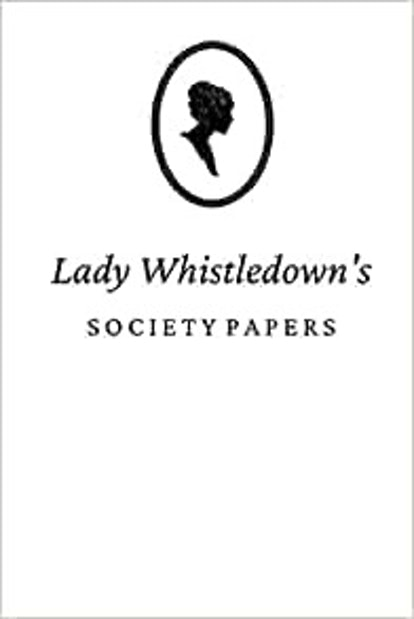 Lady Whistledown's Society Papers (6 x 9 Journal)