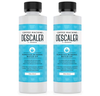 Impresa Products Coffee Machine Descaler, 8 Oz. (2-Pack)