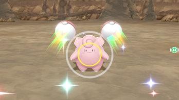 pokemon let's go pikachu eevee clefairy