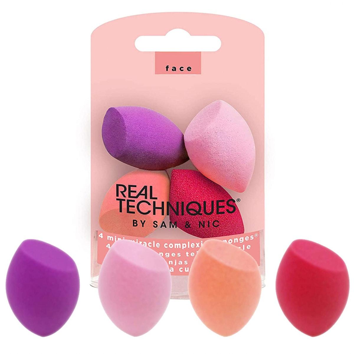 Real Techniques Mini Miracle Complexion Sponges (4-Pack)