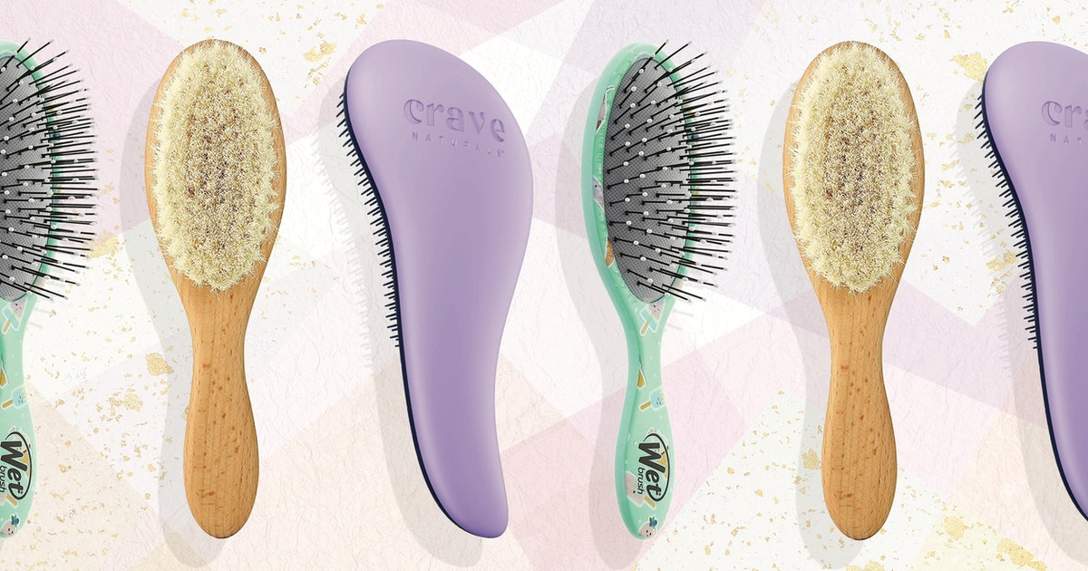 These Hair Brushes For Toddlers Detangle & Style Without The Ouch Factor