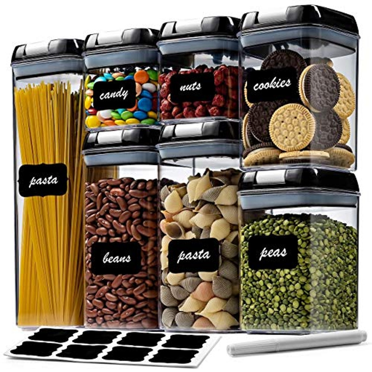 Seseno Food Storage Container Set (7-Pack)