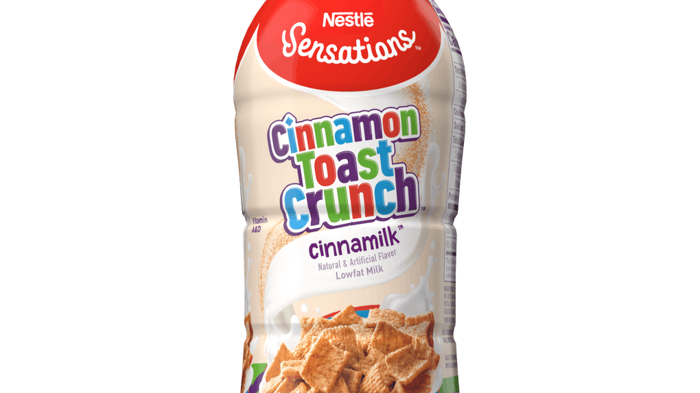Nestlé Sensations' new Cinnamon Toast Crunch Milk is packed with cereal goodness.