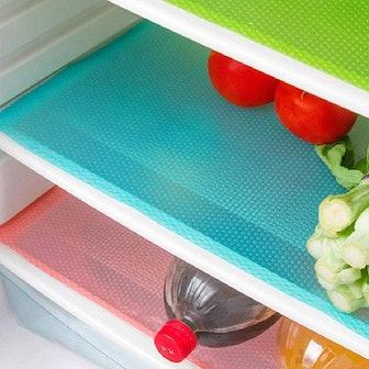E-lishine Refrigerator Shelf Mats (4-Pack)