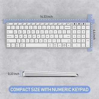 Jelly Comb Dual Mode Rechargeable Wireless & Bluetooth Keyboard