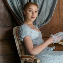 'Bridgerton' star Phoebe Dynevor says she can't imagine filming Season 2 of the show until the pandemic is over.