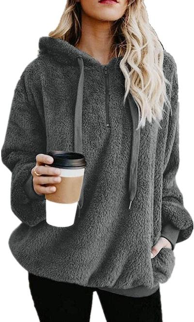 Yanekop Sherpa Pullover Sweater