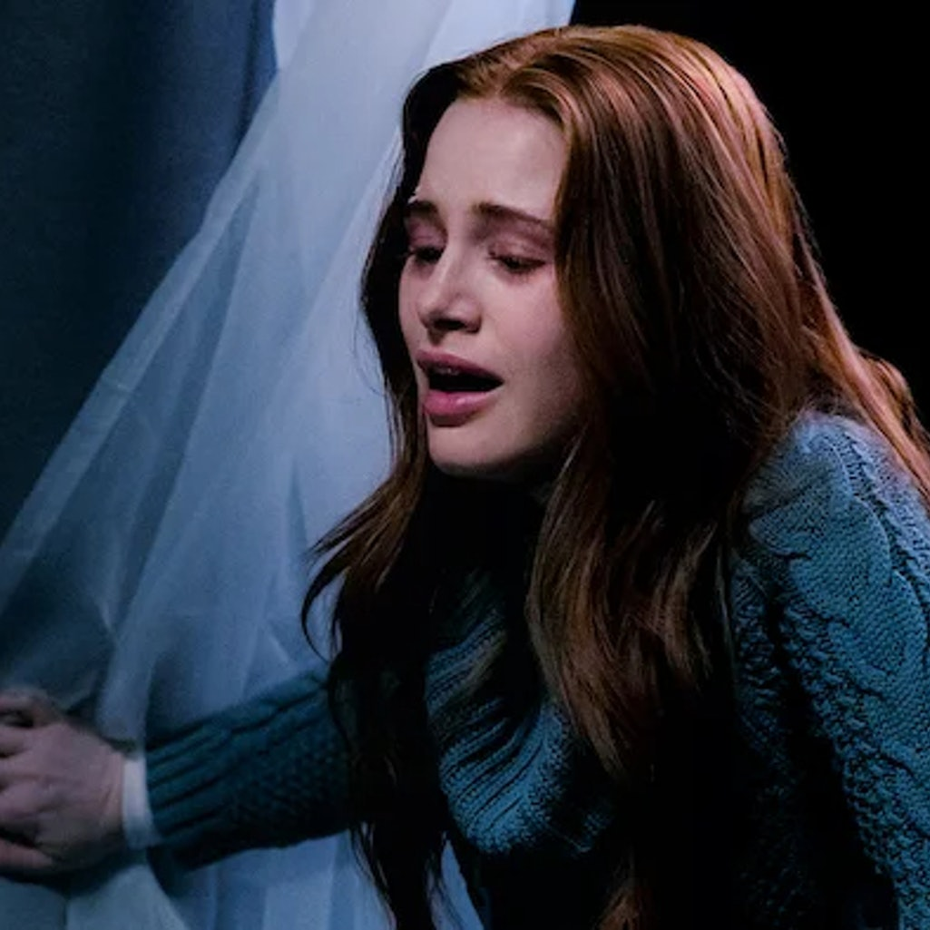 Madelaine Petsch in the film 'Sightless.'