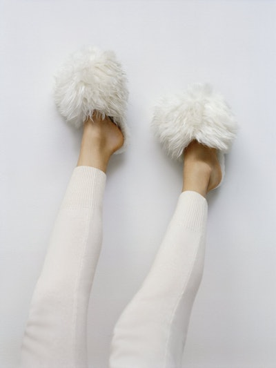 Suri Alpaca Slipper