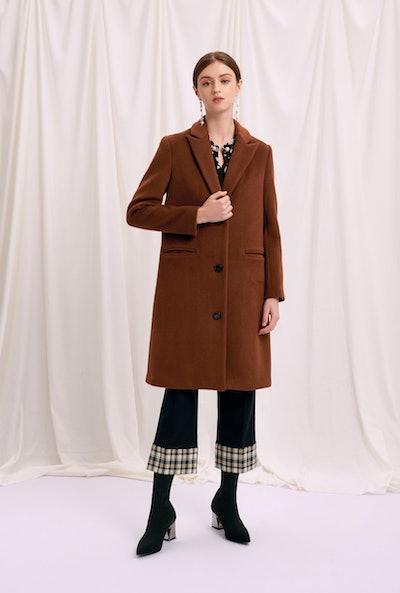 Brenna Wool Coat