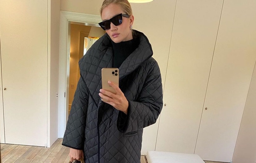 Rosie Huntington-Whiteley has an easy trick for making a minimalist home feel warm