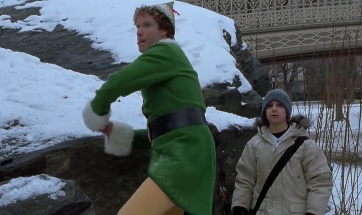 Have a snowball fight with your partner.