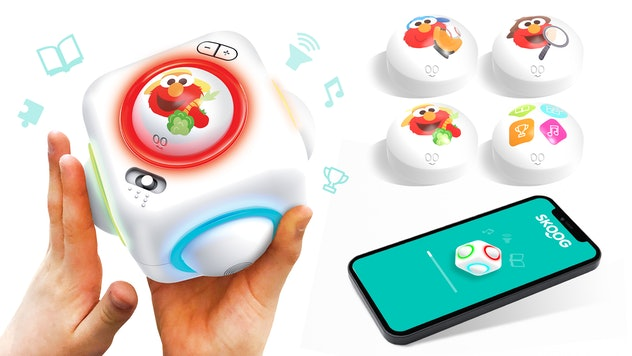 An exciting product for kids announced at CES 2021, the Skoog Cube is an interactive toy featuring 'Sesame Street' characters.