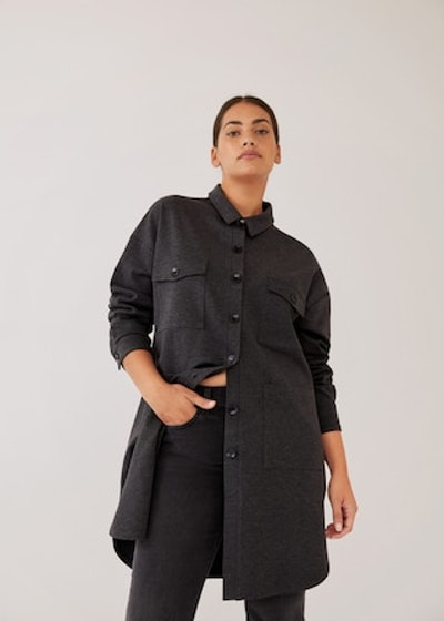 Long Shirt With Buttons