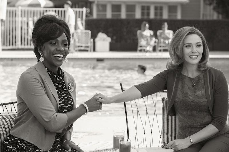 Monica and Wanda in 'WandaVision,' via Disney+ press site.