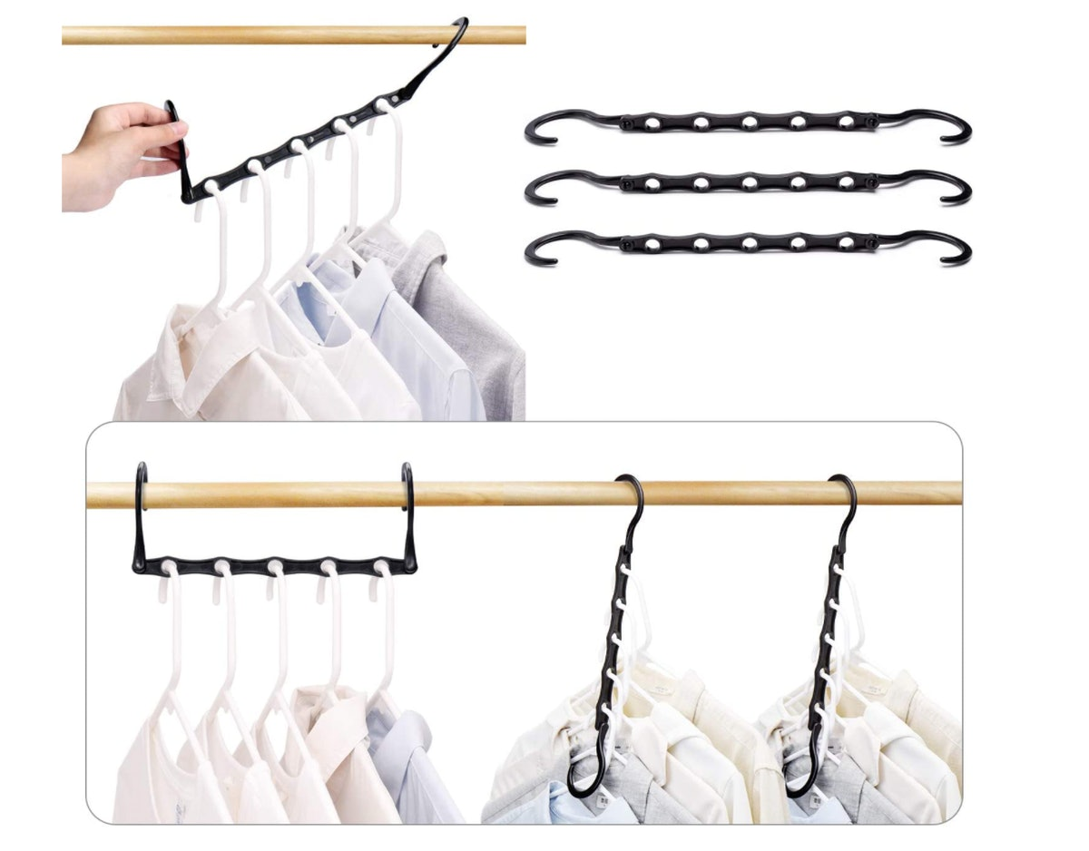 HOUSE DAY Black Magic Hangers (10-Pack)