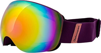 Retrospec G2 Ski and Snowboard Goggles