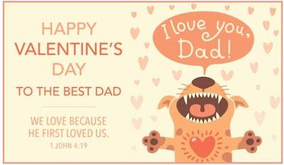 Happy Valentine's Day, Dad