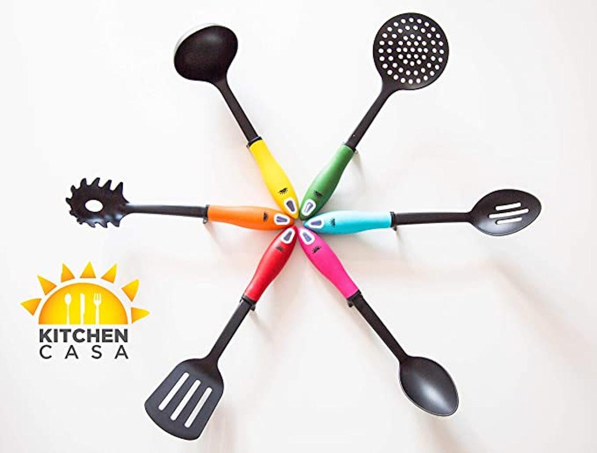 Kitchen Casa Non-Stick Cooking Utensils (6-Pack)