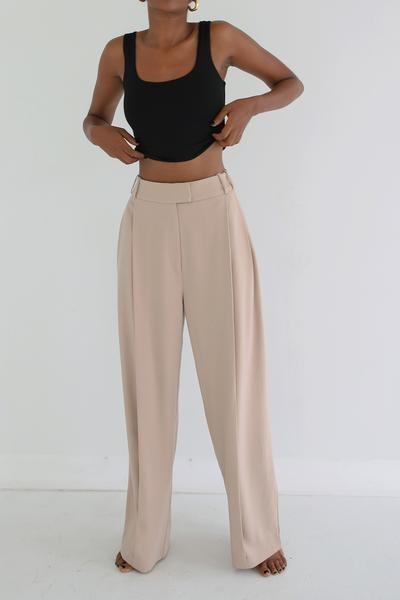 Suit Trousers Sand