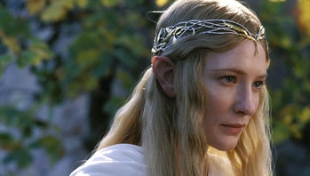 Cate Blanchett as Galadriel in Lord of the Rings