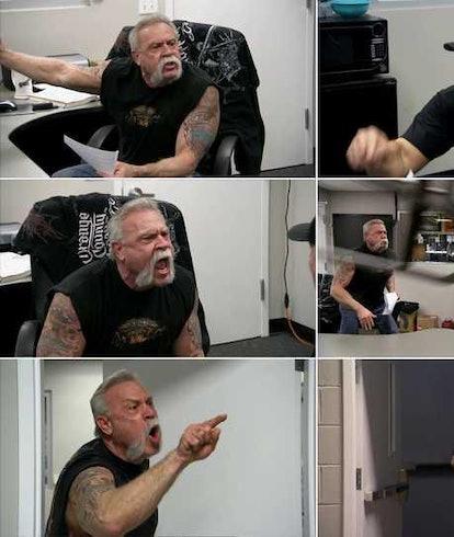 American Chopper meme.