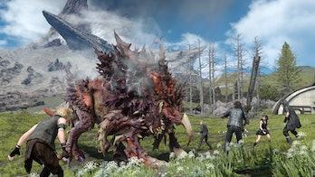 final fantasy xv game pass monster combat