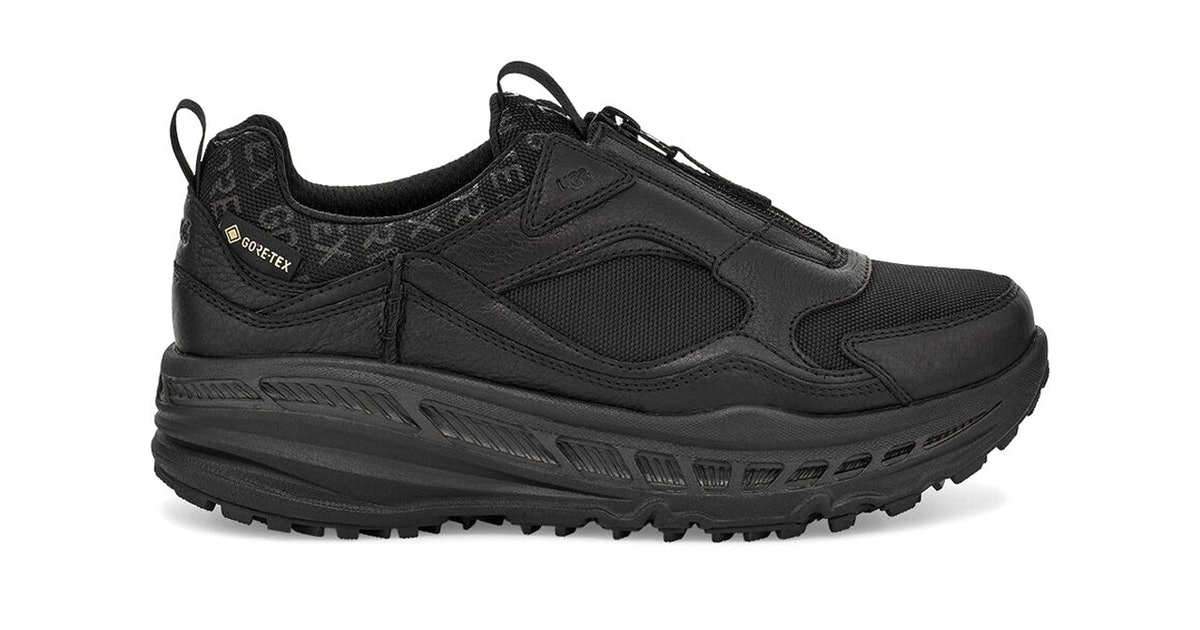 Ugg's Gore-Tex winter sneaker is tough, chunky, and has no fur