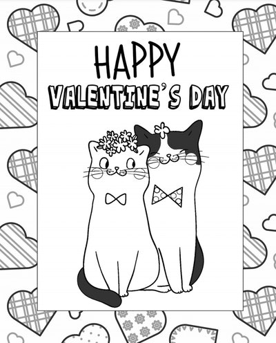 19 Free Valentine's Day 2021 Coloring Printables ...