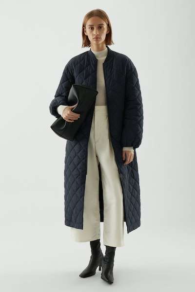 Longline Quilted Coat