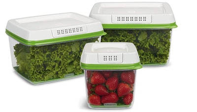 Rubbermaid Food Storage Container (Set of 3)