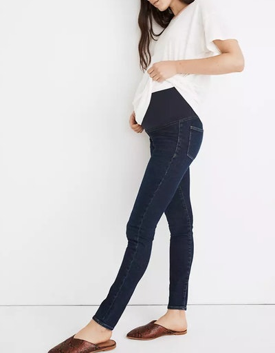 Maternity Over-the-Belly Skinny Jeans in Orland Wash