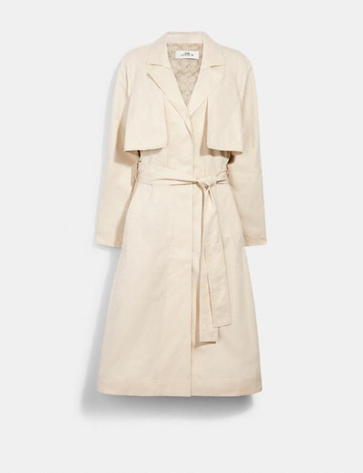 Trench With Signature Lining
