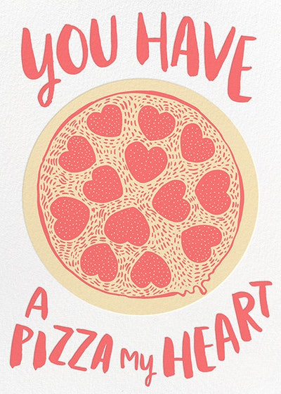 Hello!Lucky Pizza My Heart