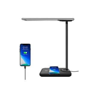AOBISI LED Desk Lamp with Wireless Charger