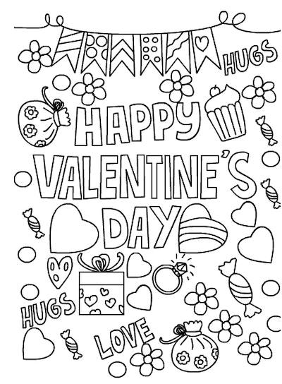 Happy Valentine's Day Printable Card