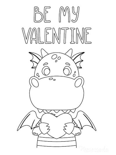 """Be My Valentine"" Dragon"