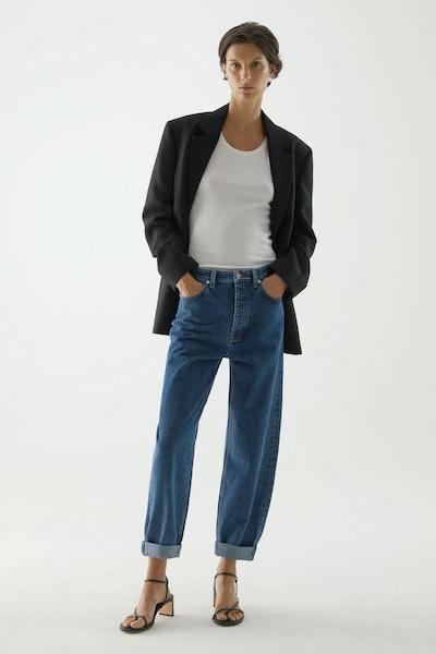 Organic Cotton Tapered Leg Jeans