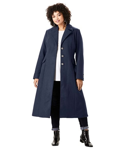 Roaman's Wool Blended Coat