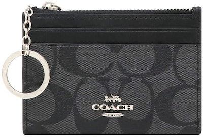 Coach Signature Skinny ID Wallet