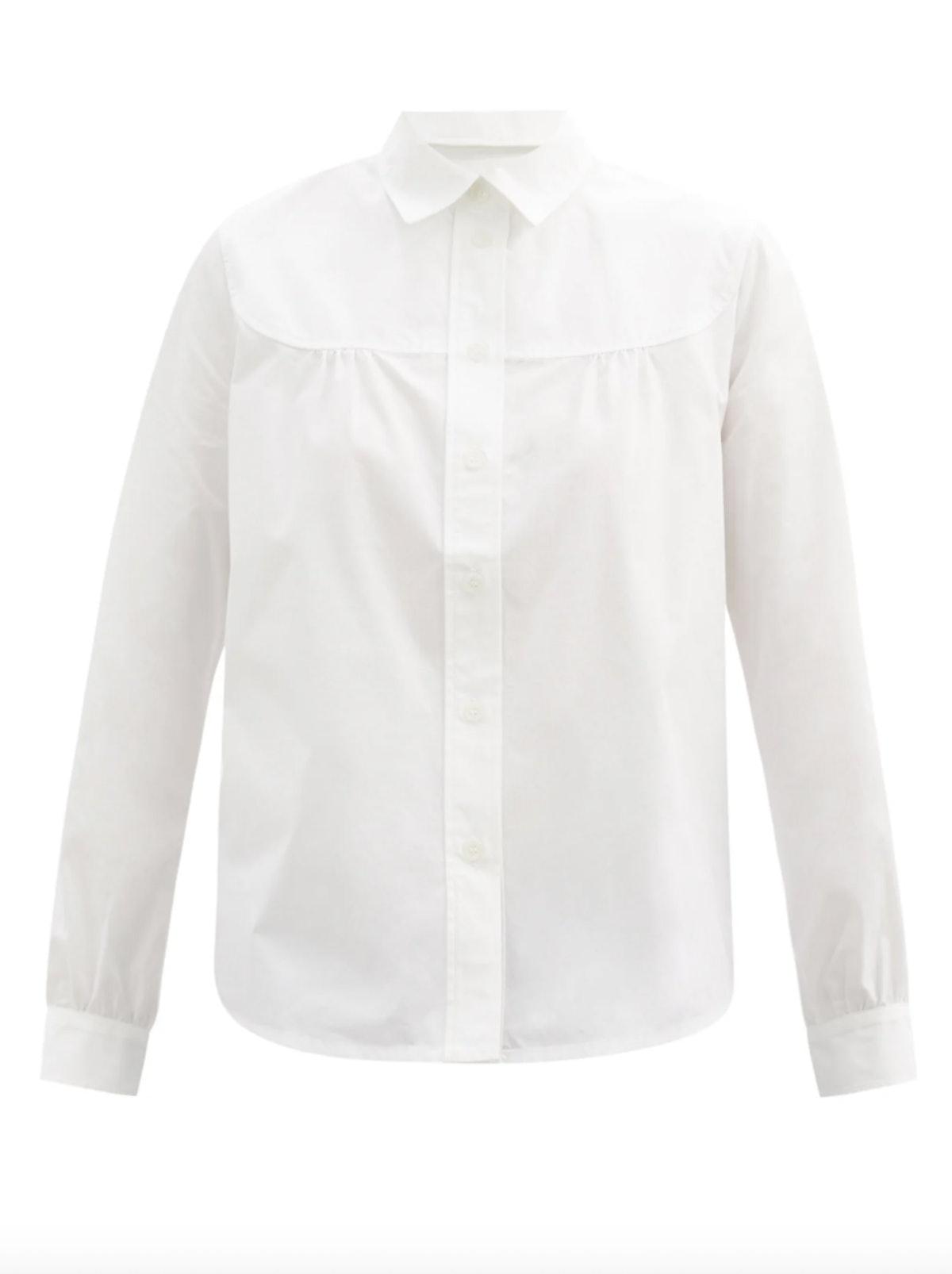 Pascale Cotton Poplin Shirt