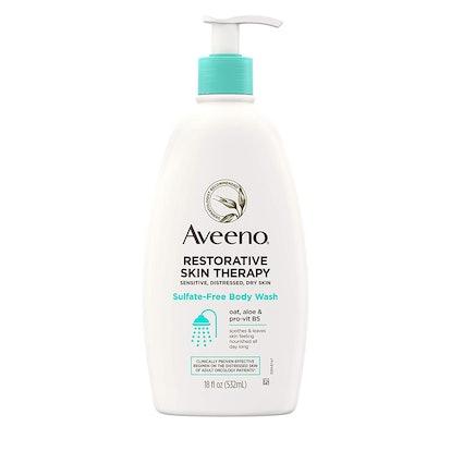Aveeno Restorative Skin Therapy Sulfate-Free Body Wash