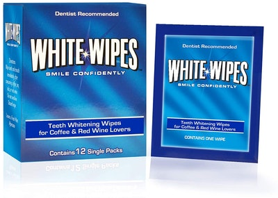 White Wipes Teeth Stain Remover Wipes (12-Pack)