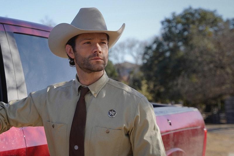 Jared Padalecki as Cordell Walker in 'Walker' via Viacom Press Site