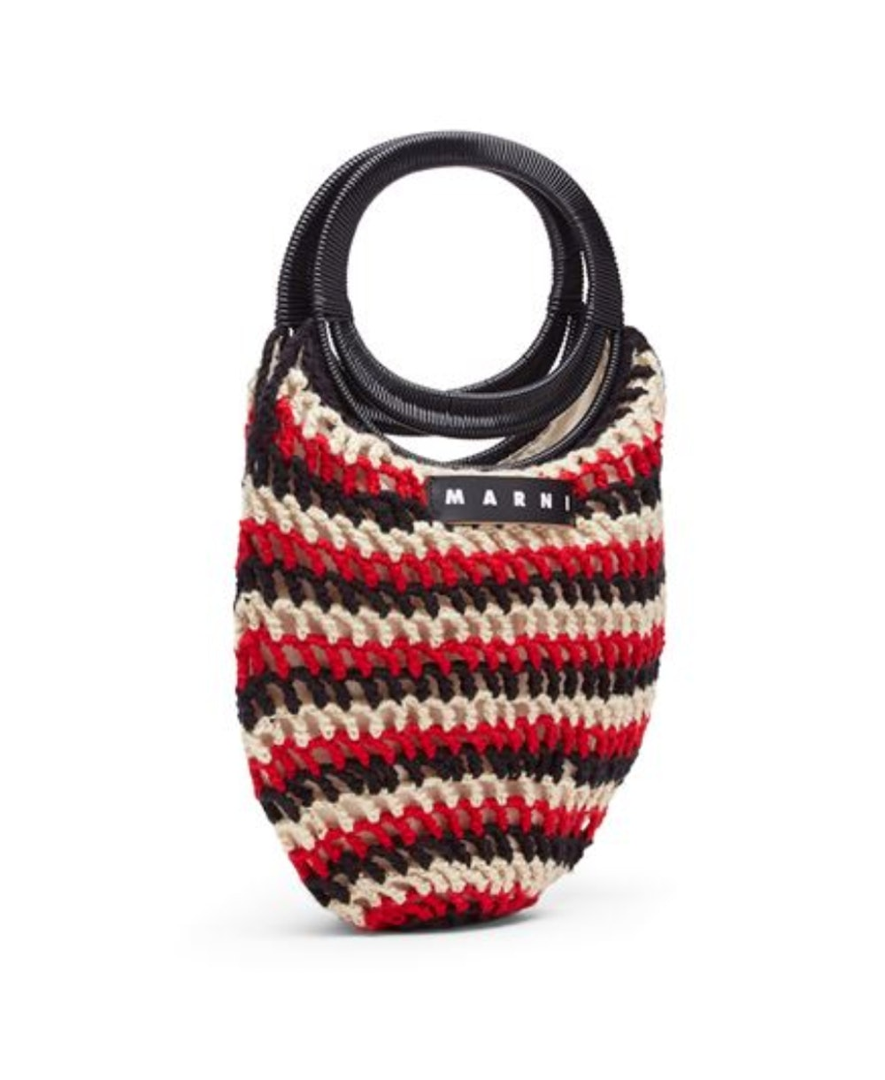 Oval Crochet Handbag