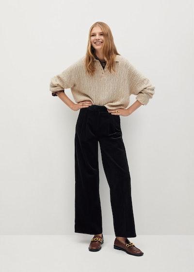 Cotton Corduroy Pants