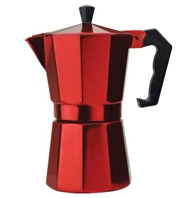 Aluminum Stovetop Espresso Maker 6 Cup