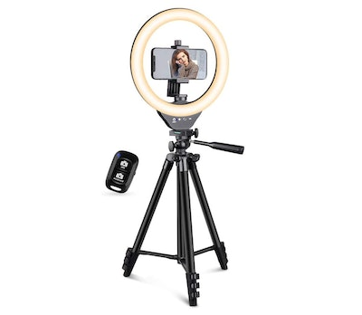 EICAUS Ring Light With Phone Stand