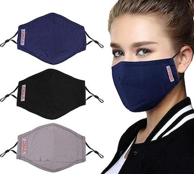 BINGFONE Cotton Masks (3-Pack)