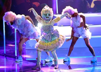 Cotton Candy in 'Masked Dancer' via FOX press site.